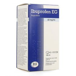 Ibuprofen EG 40mg/ml Drinkbare oplossing 100ml