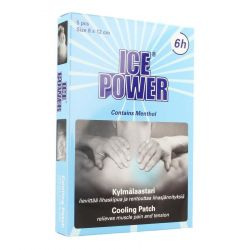 Ice Power Cooling Menthol Patches 5 pièces