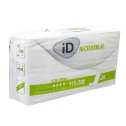 iD Expert Rectangular Extra met strip 110x360mm 28 stuks