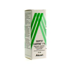 Isopto carpine 1% Gouttes oculaires 15ml