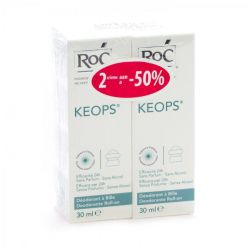 Keops deo roll-on sans alcool duo Roll-on 2x30ml