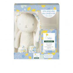 Klorane Babybox Kaninchen blau + Parfümiertes Wasser Spray 50ml
