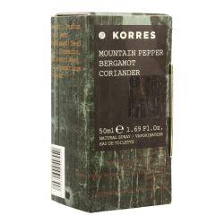 Korres poivre de montagne/bergamote/coriandre parfum Spray 50ml