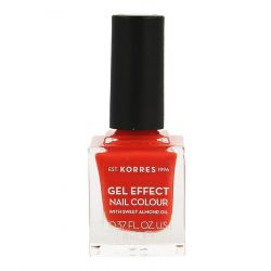 Korres Sweet Almond Gel effect 45 corail Vernis à ongles 11ml