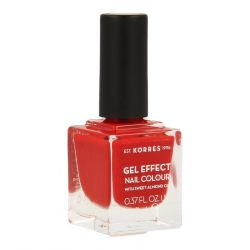 Korres Sweet Almond Gel effect 53 royal red Nagellak 11ml
