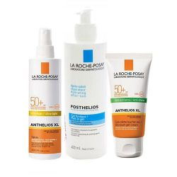 La Roche-Posay Anthelios pack familiar Paquete 3 unidades