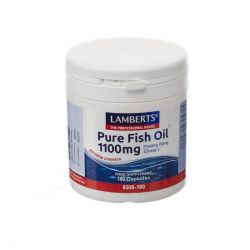 Lamberts Pure Fish Oil 1100mg Capsules 180 pièces