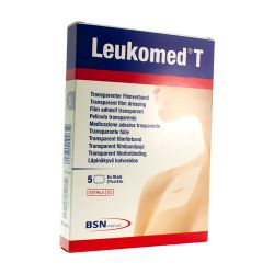 Leukomed T 8x10cm Transparent Filmverband  5 Stück
