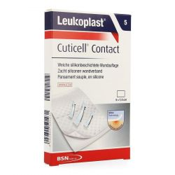 Leukoplast Cuticell Contact 5x7,5cm 5 pièces