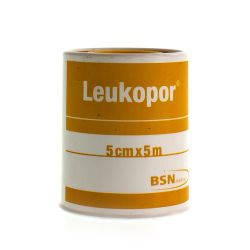 Leukopor 5cmx5m 1 Stück