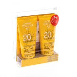 Louis Widmer All Day liposomale Sonnenmilch 20 parfümiert Promopack Creme 2x100ml