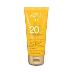 Louis Widmer All Day liposomale Sonnenmilch 20 unparfümiert Creme 100ml