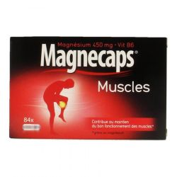 Magnecaps crampes musculaires  Capsules 84 pièces