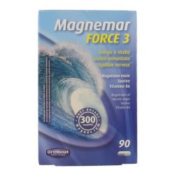 Magnemar force 3 Orthonat Capsules 90 pièces