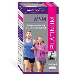 Mannavital MSM Platinum Tabletten 180 Stück