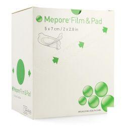 Mepore film&pad 5x7cm ovale 85 pièces