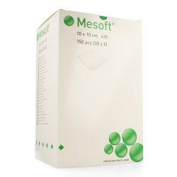 Mesoft compresses stériles 10x10cm (40g/m²) 30x5 pièces