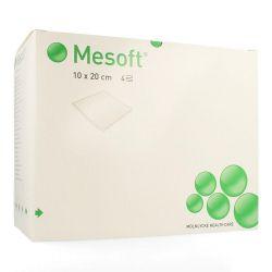 Mesoft compresses stériles 10x20cm (40g/m²) 24x5 pièces