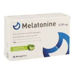 Metagenics Melatonine 0,295mg Kauwtabletten 168 stuks