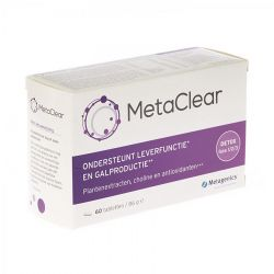 Metagenics Metaclear Tabletten 60 stuks