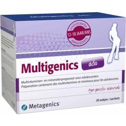 Metagenics Multigenics Ado Zakjes 30 stuks