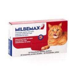 Milbemax Kat Tabletten 2x10 stuks