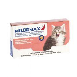 Milbemax Kleine katten & kitten Tabletten 2x10 stuks