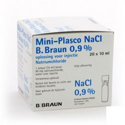Mini-Plasco NaCl 0,9%  Flapullen 20x10ml