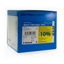 Miniplasco nacl 10 % 10ml braun 20x10ml