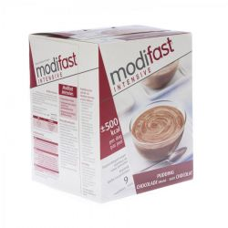 Modifast Intensive pudding chocolat 40g Sachets 9 pièces