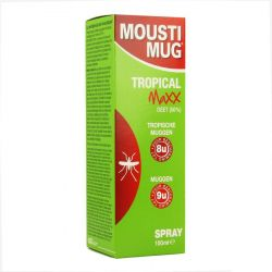 Moustimug Tropical maxx Spray Spray 100ml