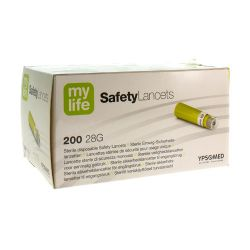 MyLife safety lancettes 200 pièces