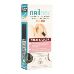 Nailner Treat & Color kwast Nagellak 2x5ml