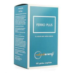 Natural Energy Ferro plus Capsules 90 stuks