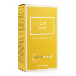 Natural Energy Q10 energy 100mg  Capsules 30 pièces