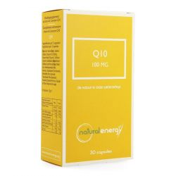 Natural Energy Q10 energy 100mg Capsules 30 stuks