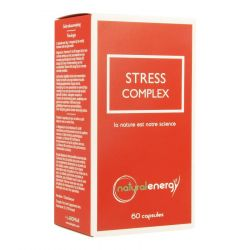 Natural Energy Stress Complex  Capsules 60 pièces