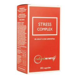 Natural Energy Stress Complex Capsules 60 stuks