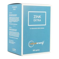 Natural Energy zink extra Capsules 180 pièces
