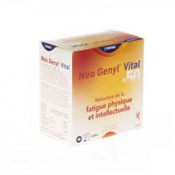 Neo Genyl vital 50+ Ampoules 15 pièces