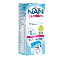 Nestlé Nan Sensitive sticks Zakjes 4x26,2g