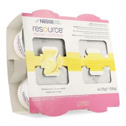 Nestlé Resource Dessert Complete vanille Pudding 4 X 125 gr
