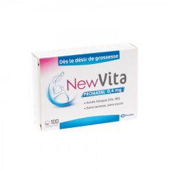 NewVita Pronatal 0,4mg foliumzuur Tabletten 100 stuks