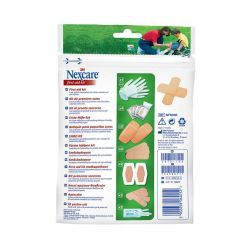 Nexcare First aid kit zipbag 1 stuks