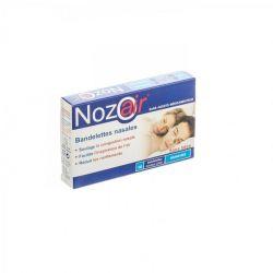 Nozoair bandelettes nasales Bandes nasales 10 pièces