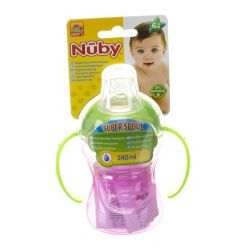 Nûby Antilek drinkbeker +6M 240ml