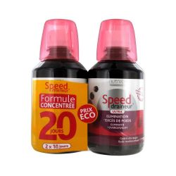Nutreov Speed Draineur duo fruits rouges Liquide 2x280ml