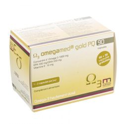 Nutrimed Omegamed Gold PQ Capsules 90 pièces