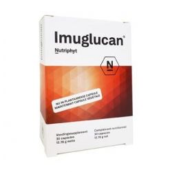 Nutriphyt Imuglucan NF Capsules 30 pièces