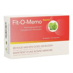Nutritic Fit-O-Memo Tabletten 54 stuks